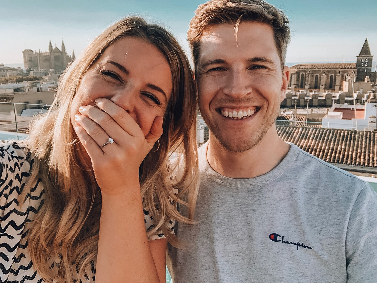 WE GOT ENGAGED!!  SURPRISE TRIP TO MALLORCA WITH MY FIANCÉ