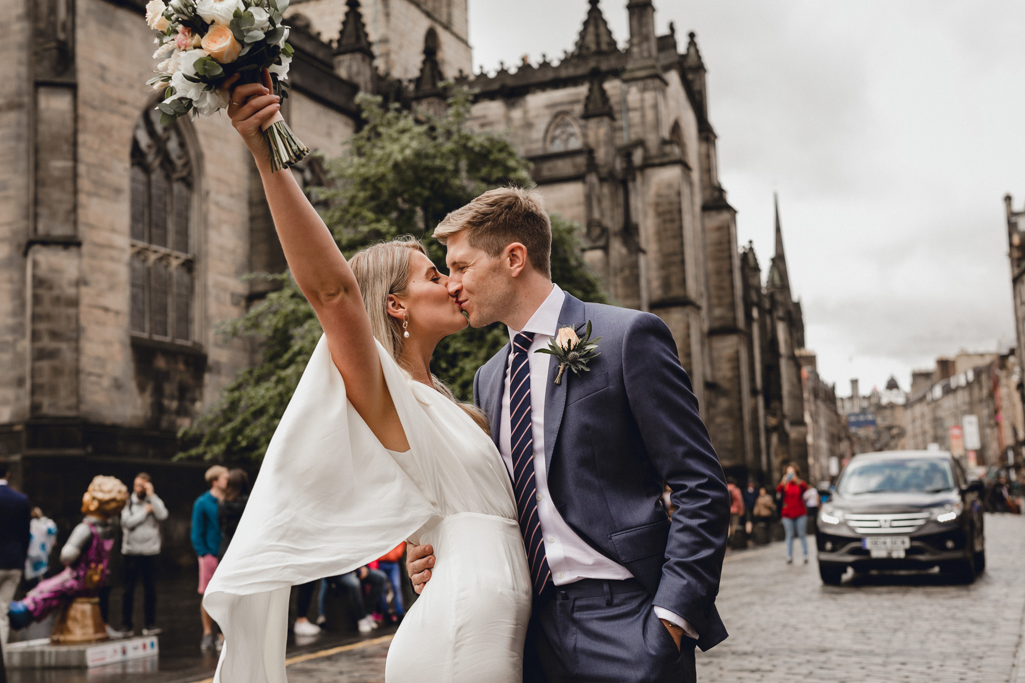 WE GOT MARRIED // OUR LEGALS IN EDINBURGH, SCOTLAND