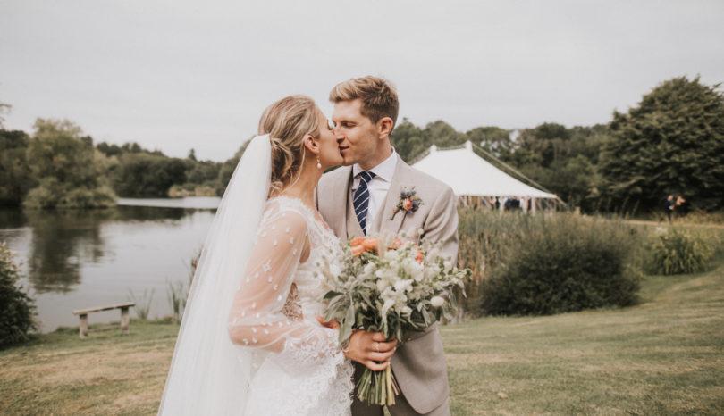 OUR WEDDING DAY // WEST SUSSEX, UK OUTDOOR WEDDING