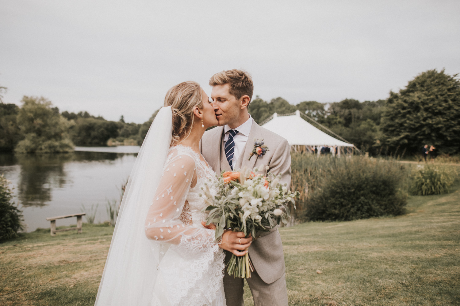OUR WEDDING DAY // WEST SUSSEX, UK OUTDOOR WEDDING