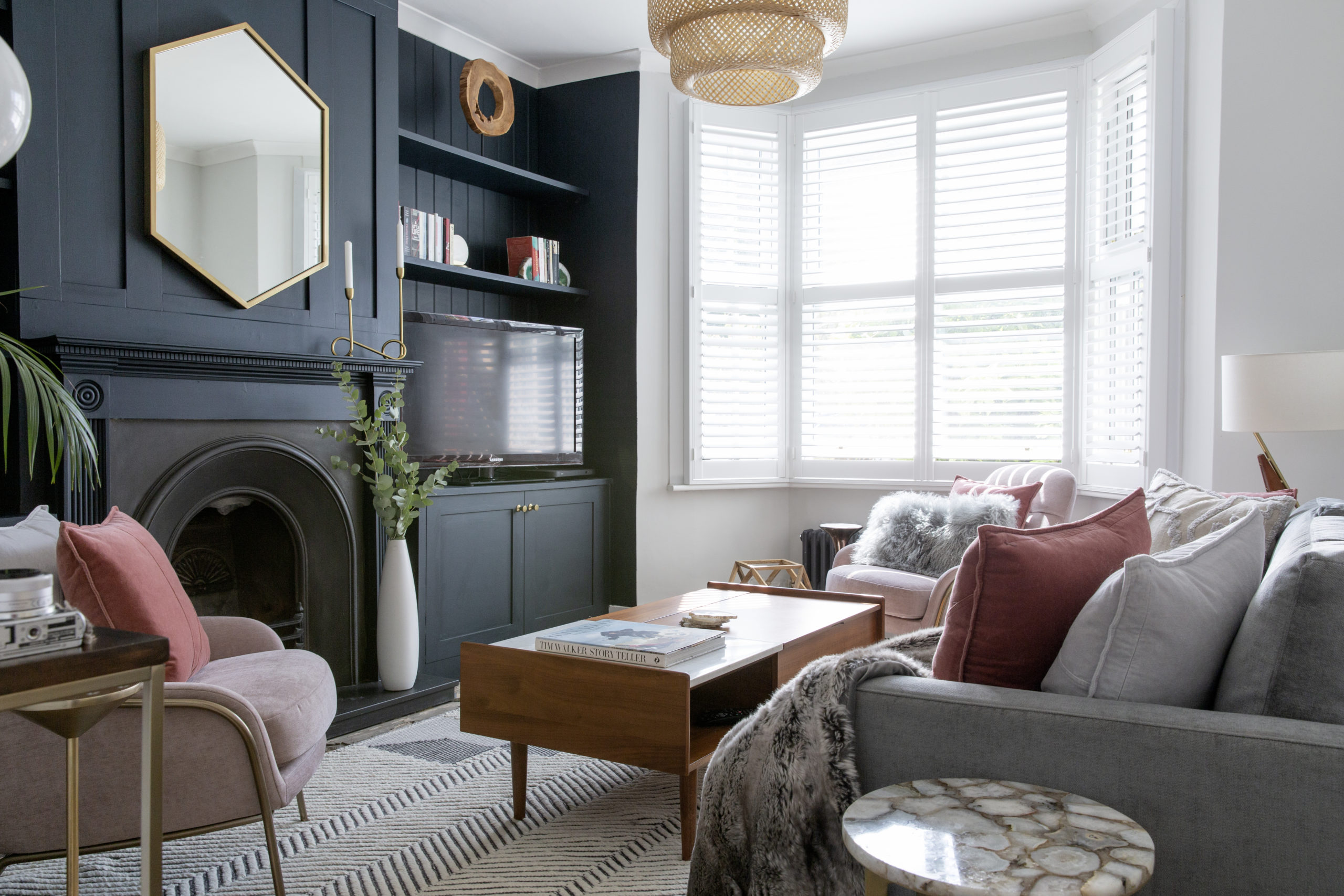 REFURBING OUR LIVING ROOM // BEFORE AND AFTER HOME TRANSFORMATION IN PARTNERSHIP WITH WEST ELM