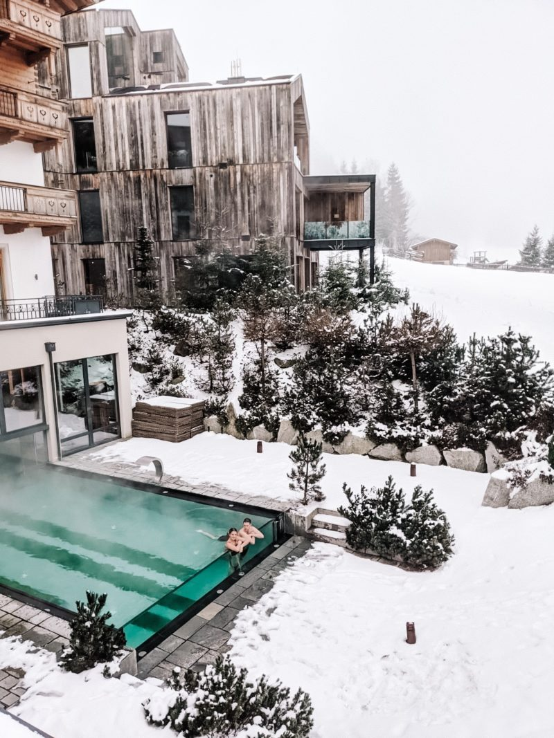 WINTER ALPINE RETREAT AT THE LUXURIOUS NATUR FORSTHOFGUT HOTEL AUSTRIA