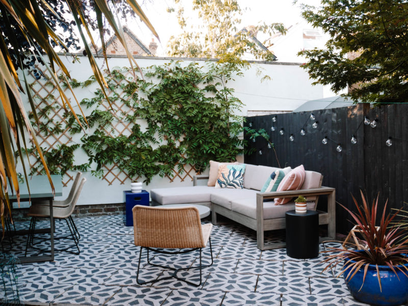 BEFORE AND AFTER GARDEN REVAMP WITH WEST ELM