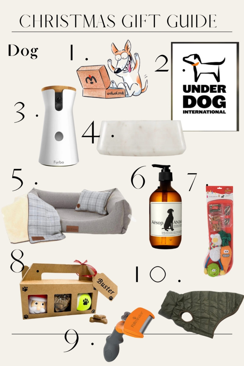 THE PET 2020 GIFT GUIDE // DOG
