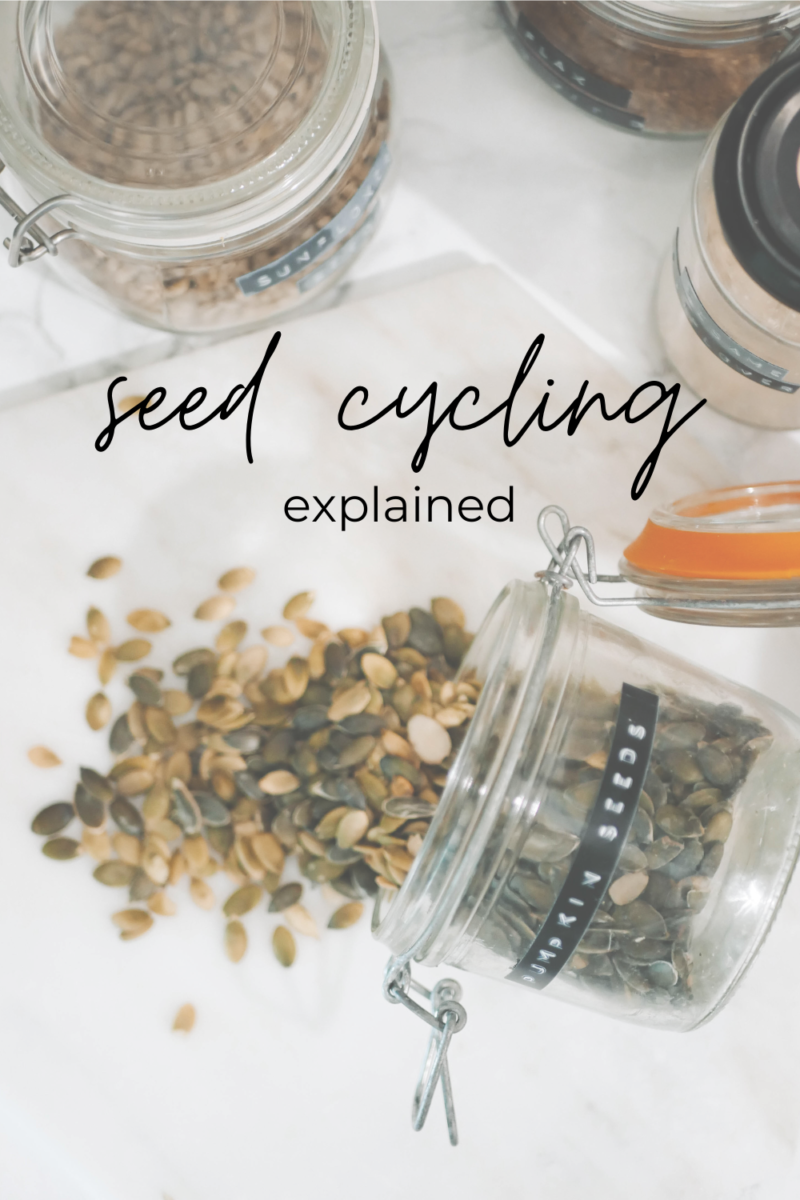 WHAT IS SEED CYCLING? DOES IT WORK? I TRIED IT AND THIS IS HOW I GOT ON