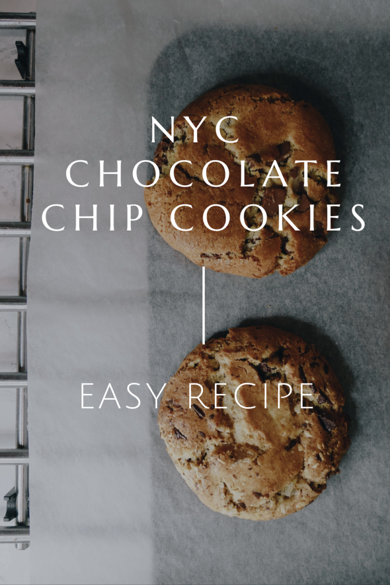 GOOEY NYC CHOCOLATE CHIP COOKIES FROM JANES PATISSERIE RECIPE